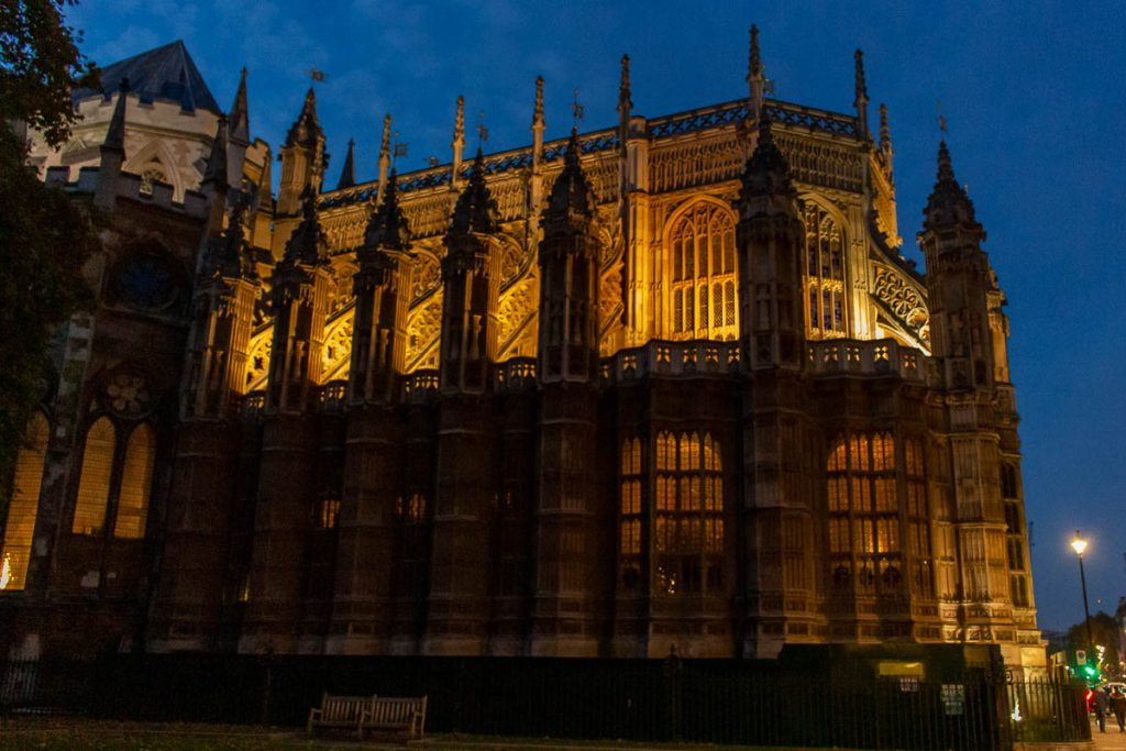Westminster Abbey Nacht